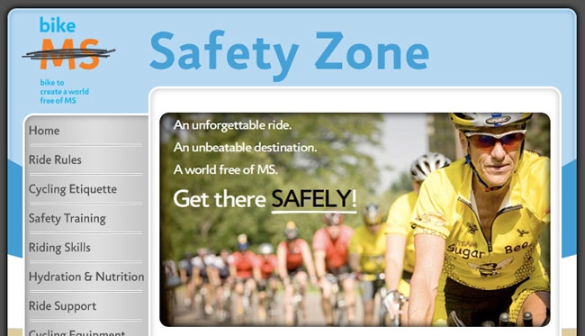 MS 150 Safety Zone